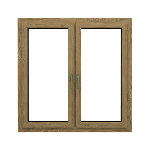 T-Passive slim okno renowacyjne kolor vintage pine