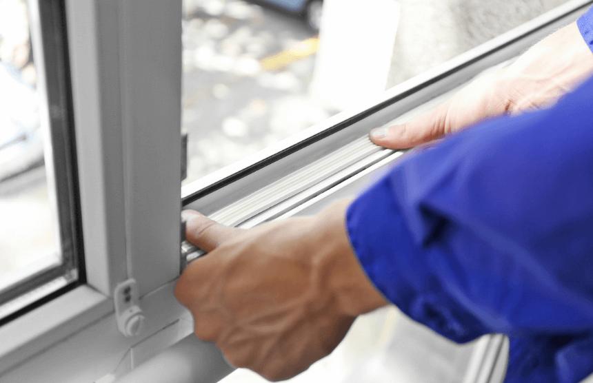 le guarnizioni nella finestra PVC